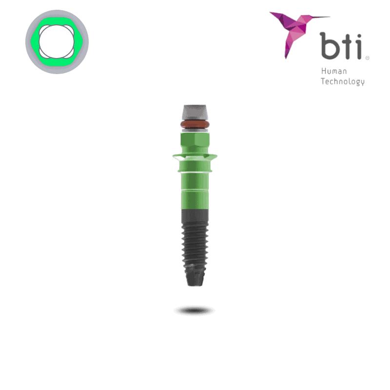 BTI Interna Breite Plattform Implantat