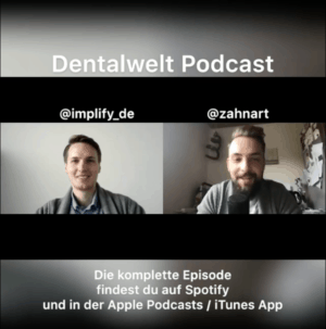 Implify im Dentalwelt Podcast