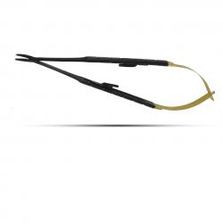 Dental USA NEEDLE HOLDER CASTROVIEJO CVD T_C 18cm BLACK EDITION (Nadelhalter) (5516B) kom
